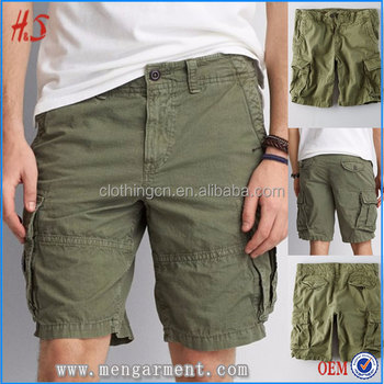 New Arrival Fashion Style Cargo Shorts Pants For Men Wholesale Bulk Green  Light Stretch Fabric Men e8c88fcdc