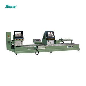 Cutting Aluminum Saw With Profile Table And PVC Machine Aluminium windows