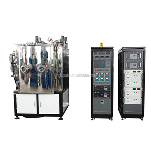 silver coating plastic spoon machine/gold plating machine for ceramic/coloring multi ion sputtering coating line