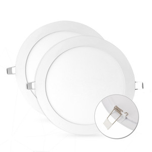 Aluminum PMMA 120 degree high quality round ceiling led panel light