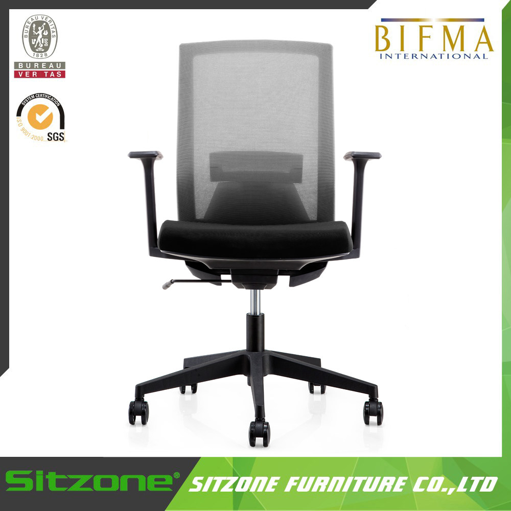 CH-206B Sitzone Latest Design Office Mesh Fabric Clerk Swivel Chairs