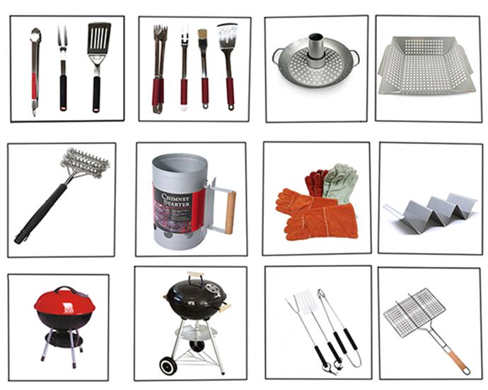 Portatile Griglia A Carbone per la Cottura Alla Griglia Esterna Barbecue Grill Rotondo BBQ Bollitore Esterno di Picnic