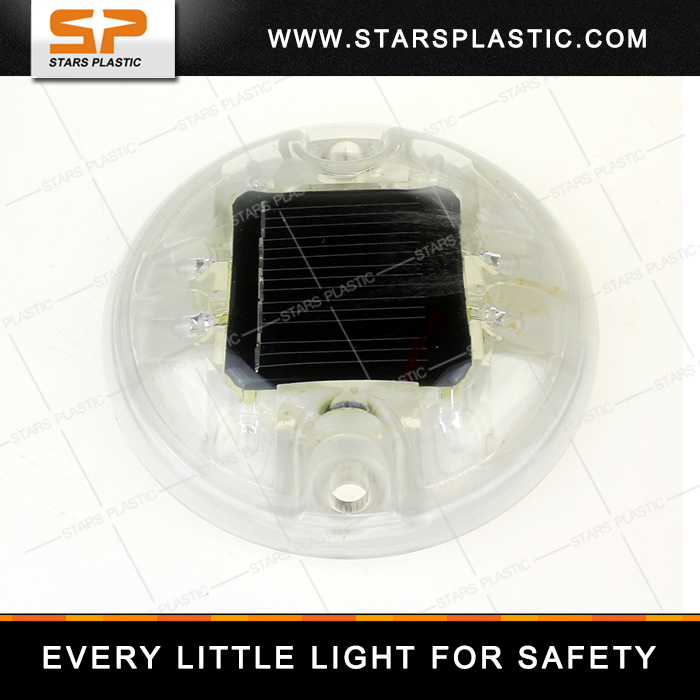 Plastic High Brightness LED Solar Road Stud Road Safety Solar Road Stud SRS-PC007