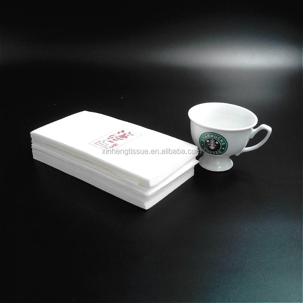 50 counts airlaid paper white tissue table napkin buy - Serviette table tissu ...
