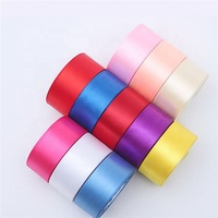 China high quality polyester decoration satin ribbon roll