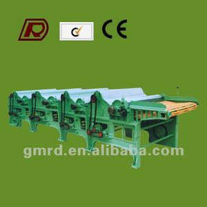 GM410 four roller fabric waste recycling machine China supplier