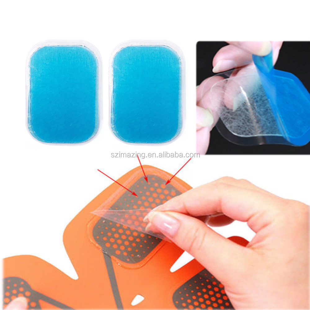 Abs Trainer Replacement Gel Sheet Abdominal Toning Belt Muscle Toner Ab Trainer Accessories Gel Sheets For Gel Pad