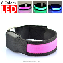 New Leopard LED Arm band cheap factory price safety light arm band