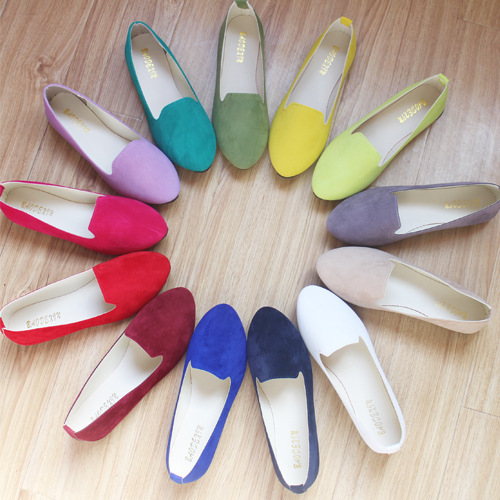 GUGUTREE 35-43# flat shoes for ladies big size women flat dress shoes cheap prices