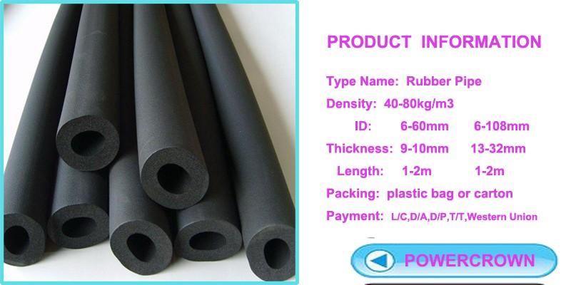 Fireproof Flexible Closed Cell Elastomeric Rubber Foam