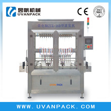 Micro-Computer Filling Machine For Easy Flow Liquid Engineers available to overseas After-sales ServiceZCG-16D