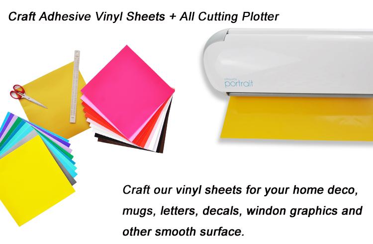 Premium Permanent Self Adhesive Vinyl Sheets 12 Quot 12 Quot For