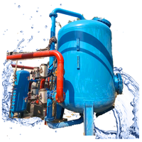 High Rate Pressure Sand Filter for Swimming Pool Wastewater Filtration/ irrigation