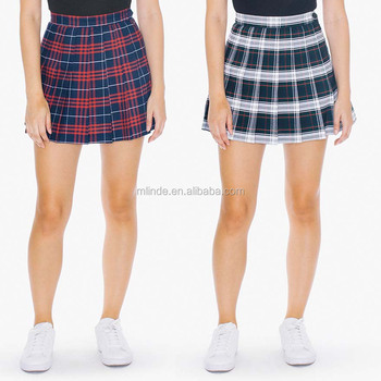 Ultime Immagini di Design Gonna Sexy Girl Mini Plaid Gonne Da Tennis Adulto Scuola Ragazza Breve Tartan Gonna Viola