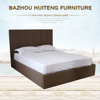 Low Price Popular Style Soft Price Plywood Double Bed Designs Comfortable  And Soft Bed For Upholstery