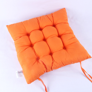 New arrival high density plain color large chair stadium school seat cushion