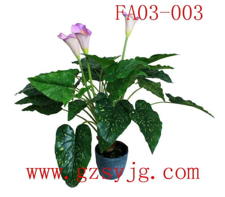 hot sale fake calla lily plants potted lilies water gardens artificial fake calla lilies