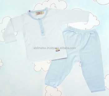 100% Pima cotton Baby Pajamas Little Horse