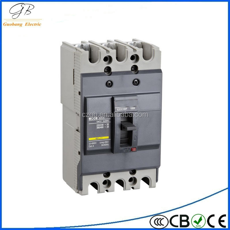 low voltage earth leakage motor protection 250 amp mccb
