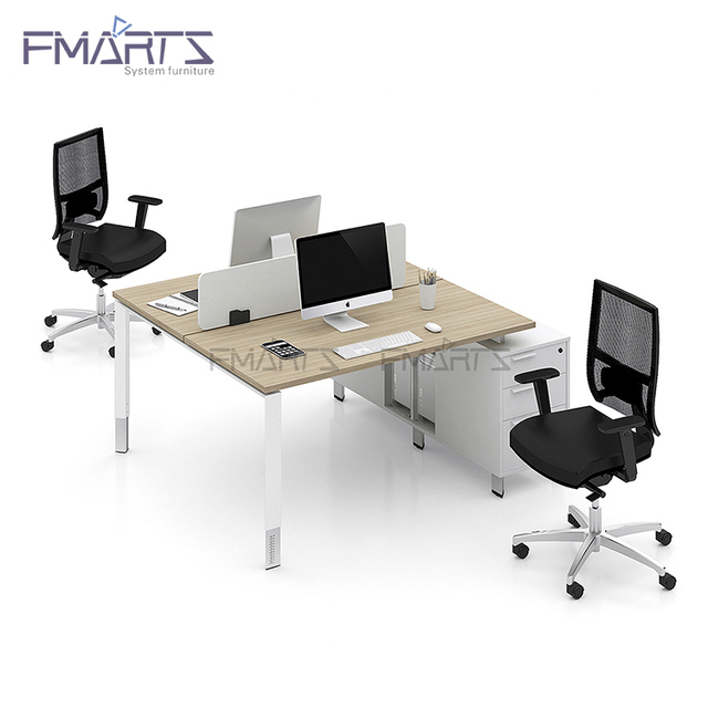 Latest Fashion Moderate Price One Stop Service Office Standard Sizes Of Workstation Furniture 4 Person