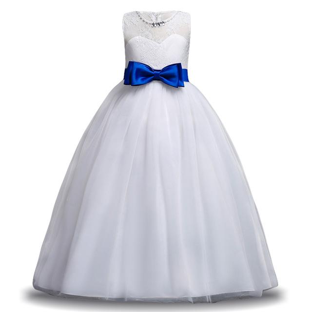 Venta Al Por Mayor Modas Vestidos Blancos Niña 10 Años