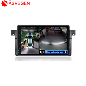 Car Multi Angle Camera 3D View Surround View System Car 360 Degree Bird View System DVR Record For 2003-2012 BMW E46