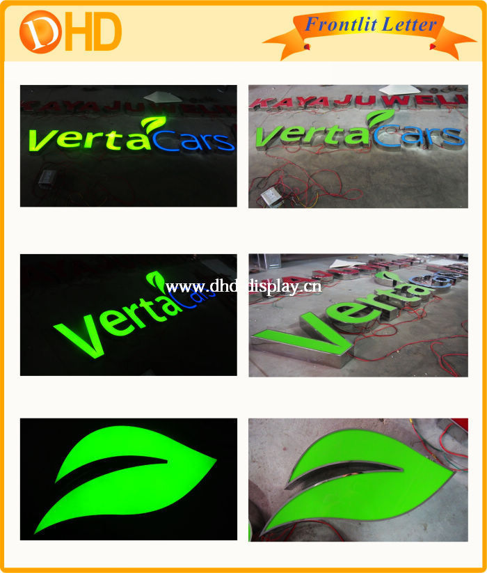 Fashion Made Outdoor Advertising Acrylic Led Light Signs Letter ...