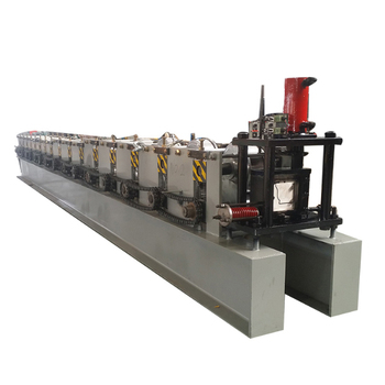 Customized different shape gutter water roll forming machine