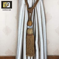 Decorative Fancy Magnetic Accessory Tie Back Wholesale Curtain Tieback Tassel