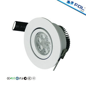 Dimming Avaiable Adjustable Bezel 30 Degree 6W 90LM/W Mini COB LED Spot Light