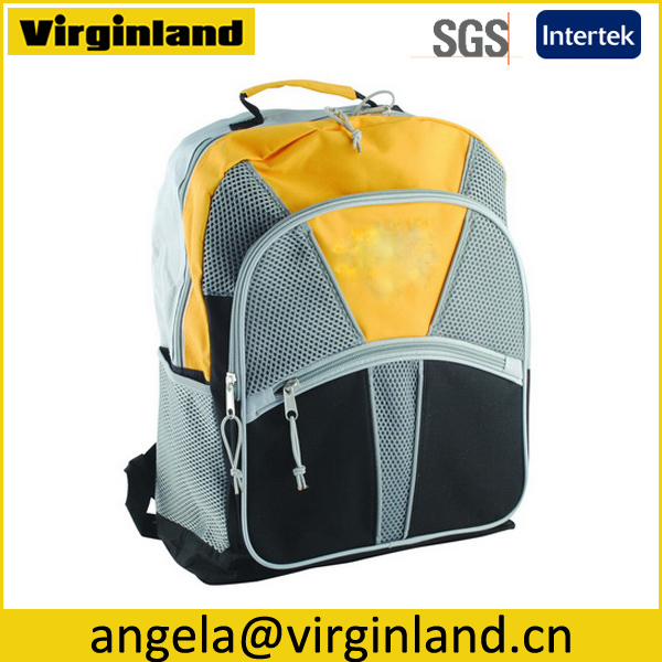 Wholesale Hot Style Plain Cheap 600D School Book Bag For Teenager Students