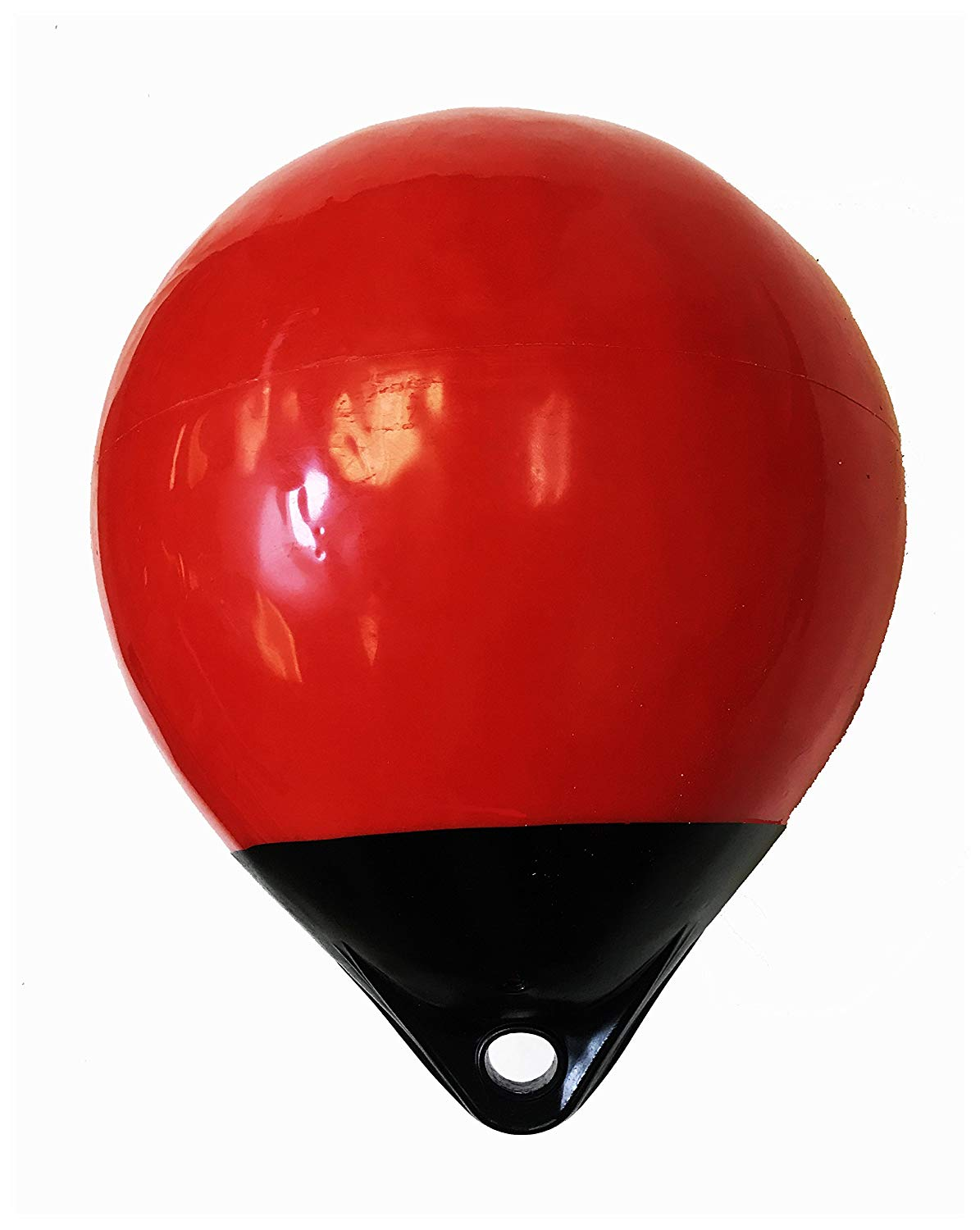 "KUFA 12"" Diameter (Inflated Size: 12"" x 15"") Mark Buoy Mooring Buoy Anchor Lift Buoy A30, Red/Black"