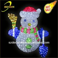 CE ROHS RS-snowman02 2013 christmas glass gift