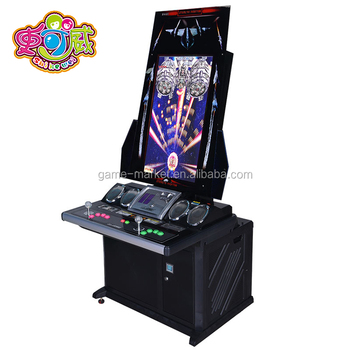 SQV de koning van vechter game center amusement arcade video muntautomaat elektronische fighting game machine