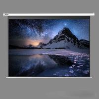 120'' 4:3 motorized electronic projector screen