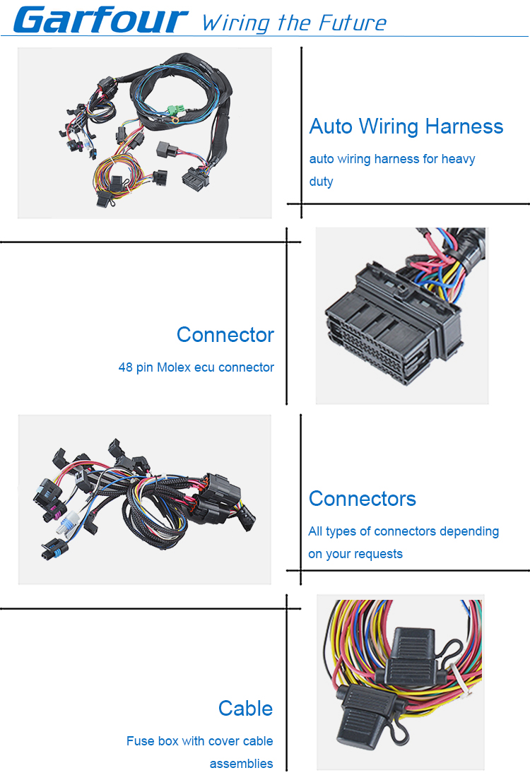 LS standalone ECU with trans control automotive engine harness