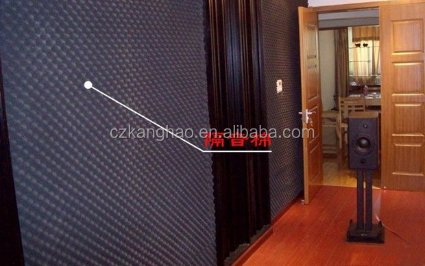 Highly cost efficient single-room ventilation systems used sound acoustic foam