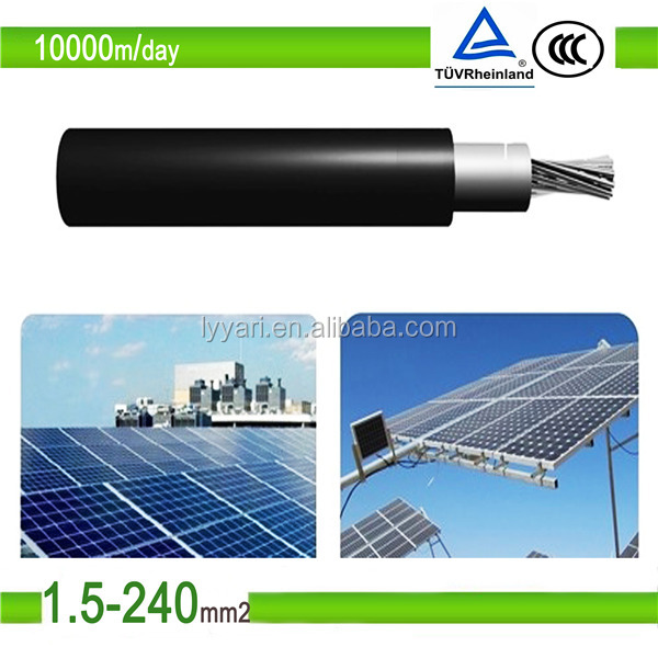 XLPE Double Insulated Photovoltaic Solar Cable with tuv standard