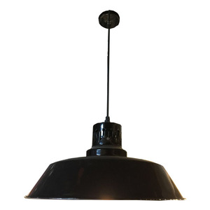 Black pendant lamp ceiling light hanging light with holes on the head