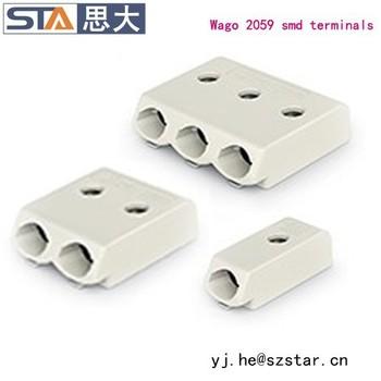 2059-301/998-403 3 Mm Pin Spacing Smd Wago Terminal Blocks