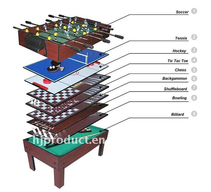 12 In 1 Foldable Type Multi Game Table All Kinds Of Table Games Available Buy 12 In 1 Game Table Indoor Game Game Product On Alibaba Com