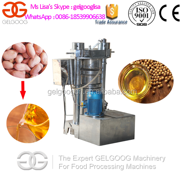 Multifunctional Soybean Oil/Camellia Oil/Maize Germ Oil Press Machine