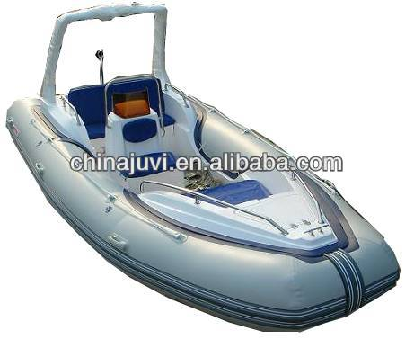 (CE) PVC material optional floor color fold 2013best-selling large inflatable boat RIB580