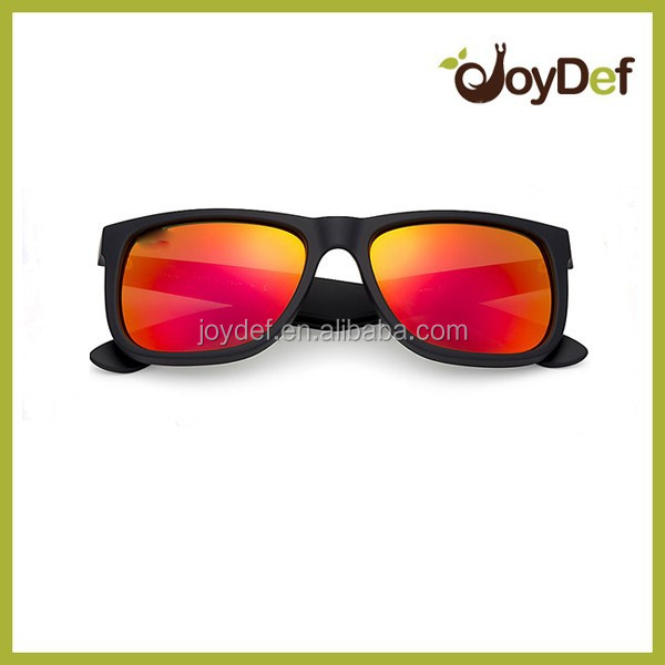 Soft touch Rubberized sunglassese Matte Neon Color Style Sunglasses rubber eyewear