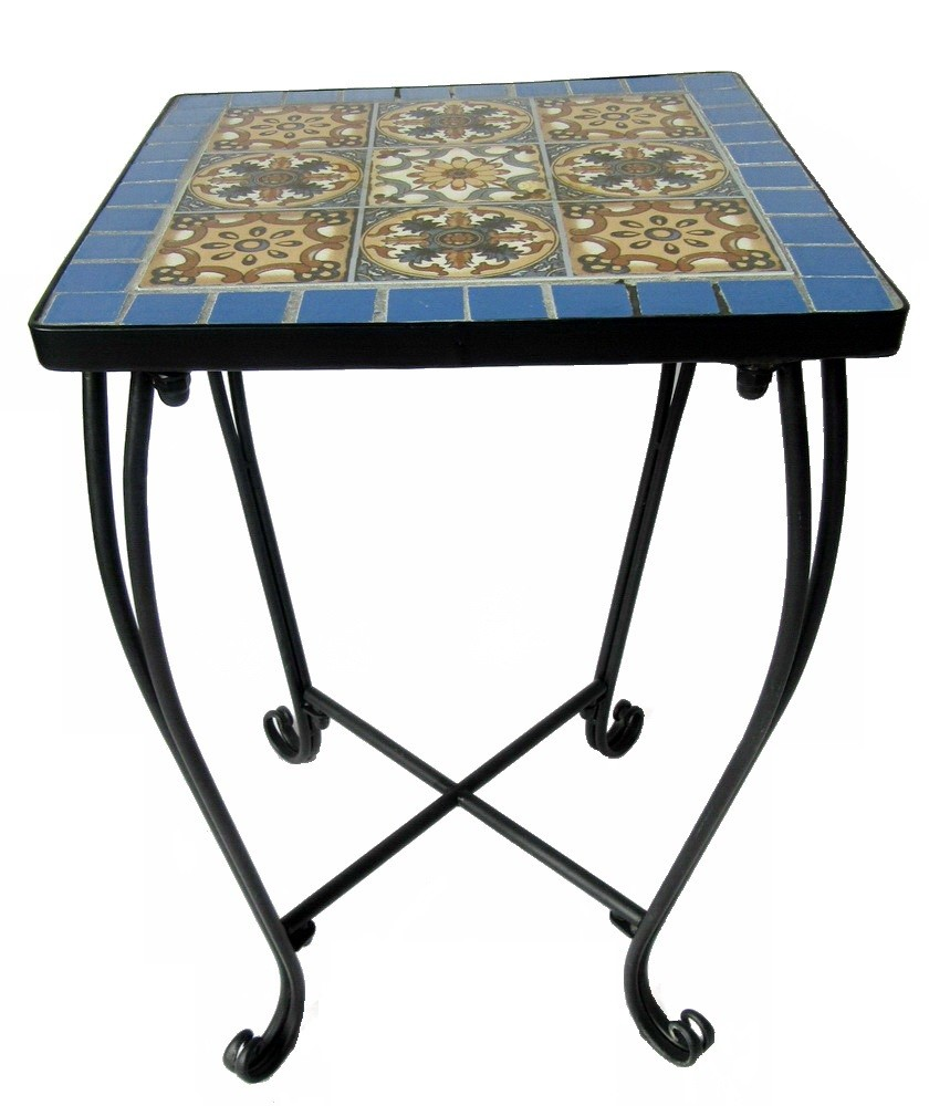 Mosaic Top Small Outdoor Coffee Table - Buy Outdoor Coffee ...