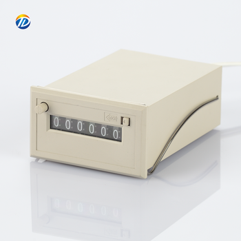 New type Mask machine counter CSK6-NKW DC24V 12V AC 110V 220V 6 Digit Push Button Reset Electromagnetic machine Counter Meter