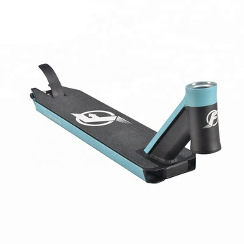 OEM ODM professional made extreme scooter deck surfing aluminum stunt scooter deck 115*500mm