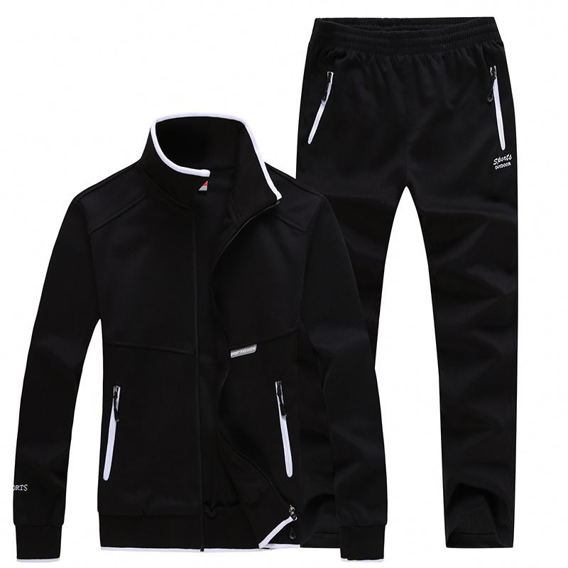 High quality tracksuit mens good selling slim fit tracksuit fashion and popular tracksuit sportswear Sports Set