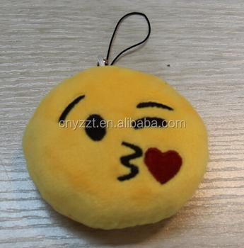 Free Sample Emoji Plush Keychain/emoji Keychain/plush Emoji Key ...