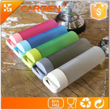 Promotional 600ml good quality colored plastic sport water bottle